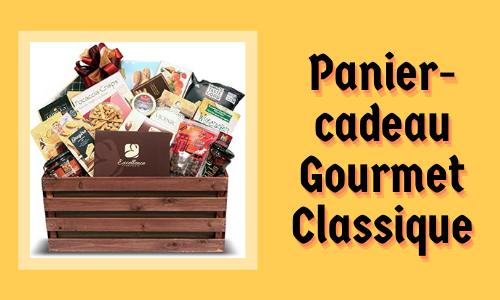 Panier-cadeau Gourmet Classique