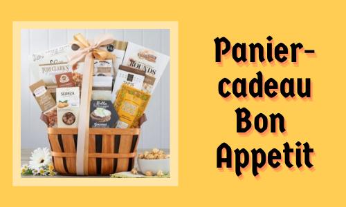 Panier-cadeau Bon Appetit
