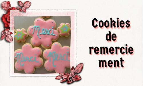 Cookies de remerciement