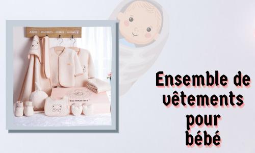 Ensemble de vêtements pour bébé