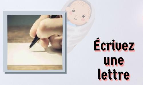 Écrivez une lettre