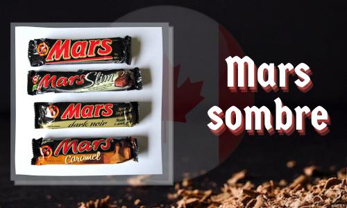 Mars sombre