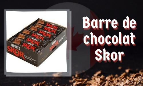 Barre de chocolat Skor