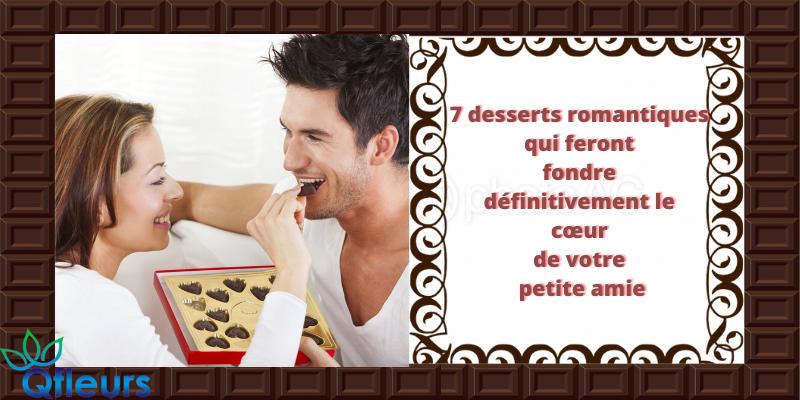 7 desserts romantiques qui feront fondre définitivement le cœur de votre petite amie
