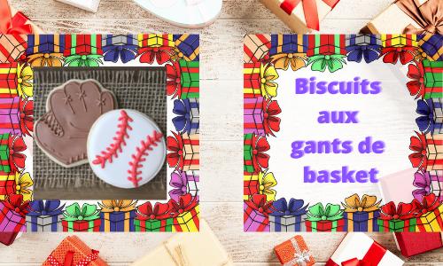 Biscuits aux gants de basket