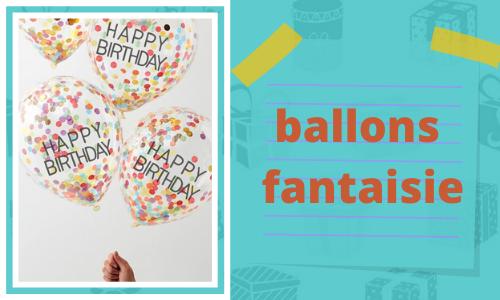 ballons fantaisie