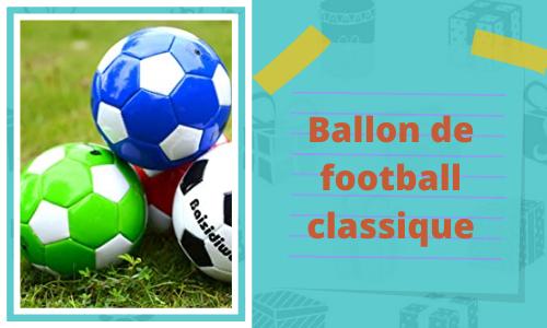 Ballon de football classique