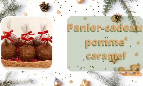 Panier-cadeau pomme caramel