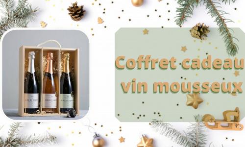 Coffret cadeau vin mousseux
