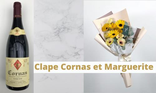 Clape Cornas et Marguerite
