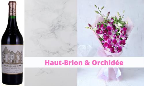 Haut-Brion & Orchidée