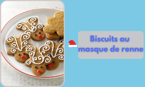 Biscuits au masque de renne