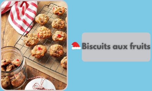 Biscuits aux fruits