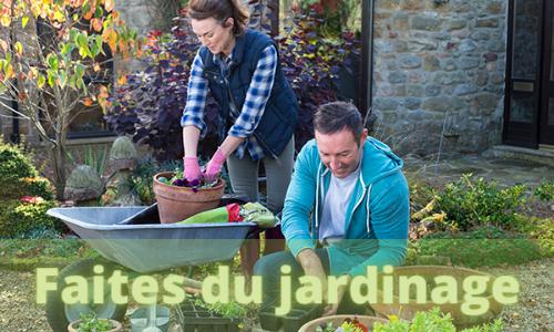 faites du jardinage