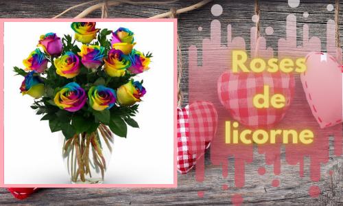Roses de licorne