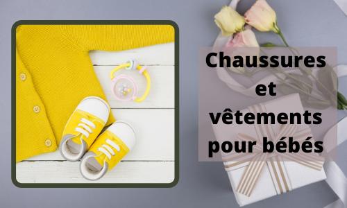 Chaussures et vêtements pour bébés