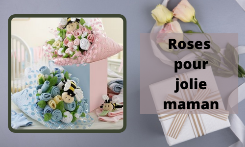 Roses pour jolie maman