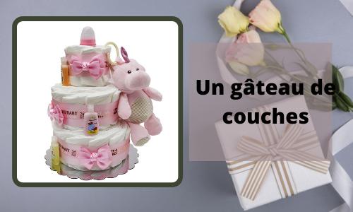 Un gâteau de couches