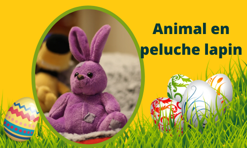 Animal en peluche lapin
