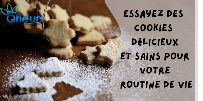 Essayez des cookies délicieux et sains pour votre routine de vie