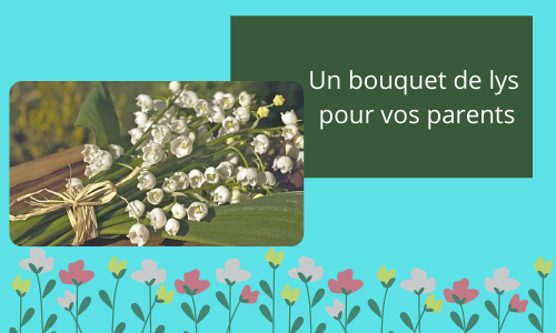 Un bouquet de lys pour vos parents