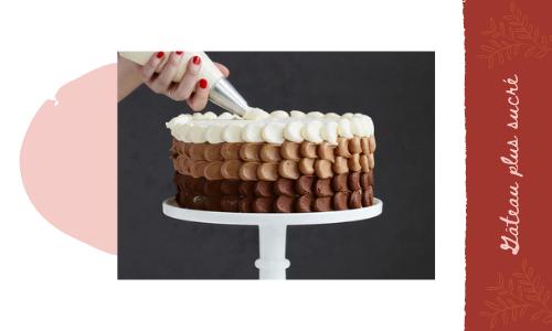Gâteau plus sucré