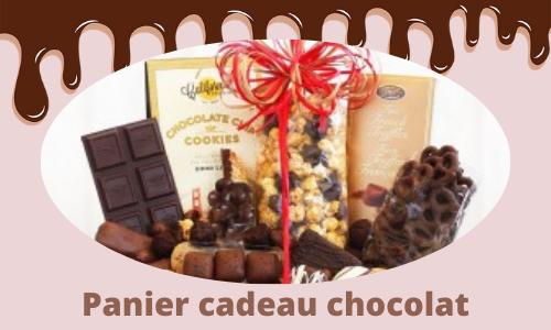 Panier cadeau chocolat