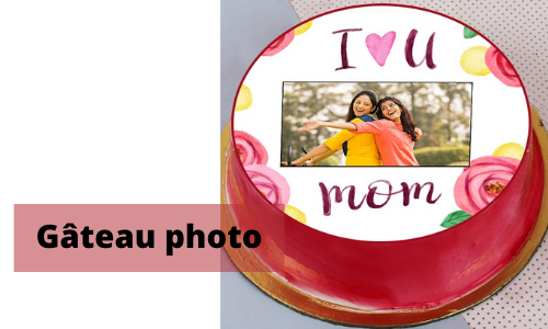 Gâteau photo