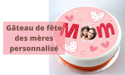 Gâteau de fête des mères personnalisé