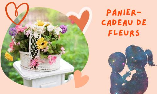 Panier-cadeau de fleurs