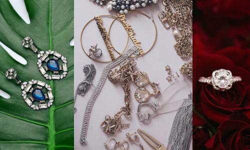 Bijoux pour star de la mode