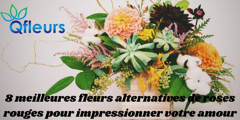8 meilleures fleurs alternatives de roses rouges pour impressionner votre amour