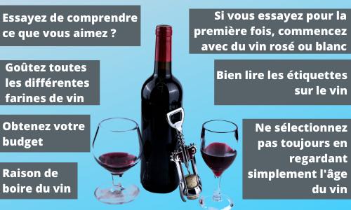 conseils pour choisir le meilleur vin