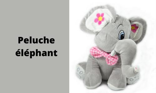 Peluche éléphant