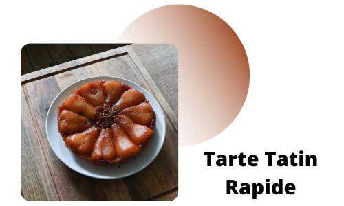 Tarte Tatin Rapide
