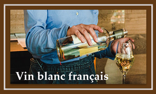 Vin blanc français