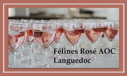 Félines Rosé AOC Languedoc