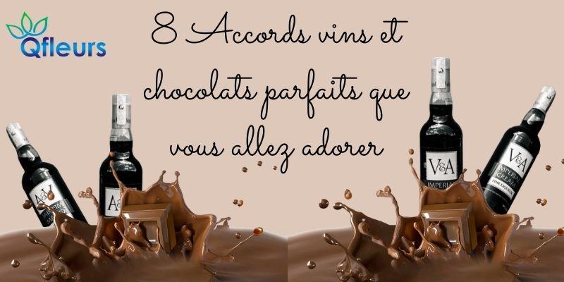 8 Accords vins et chocolats parfaits que vous allez adorer