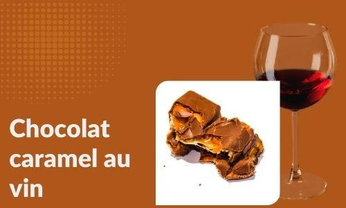 Chocolat caramel au vin