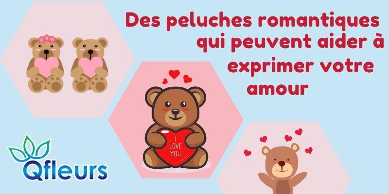 Des peluches romantiques qui peuvent aider à exprimer votre amour