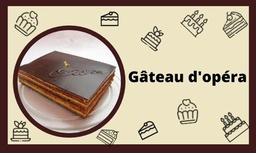 Gâteau d'opéra