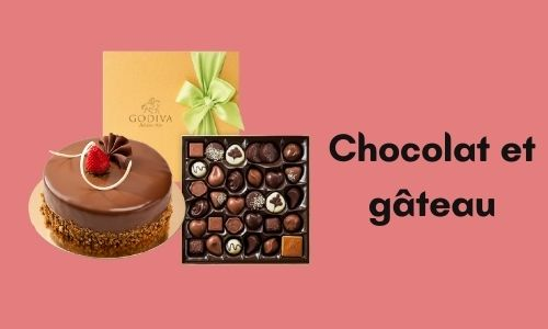 Chocolat et gâteau