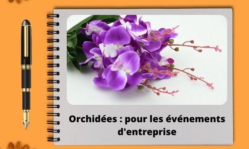 Orchidées : pour les événements d'entreprise